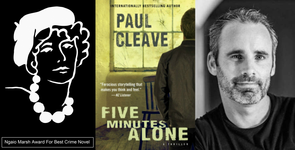 Paul Cleave wins Ngaio Marsh Award