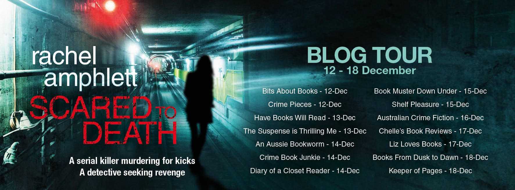 Scared to Death Blog Tour