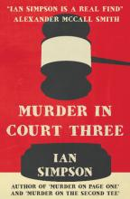 Murder in Court Three